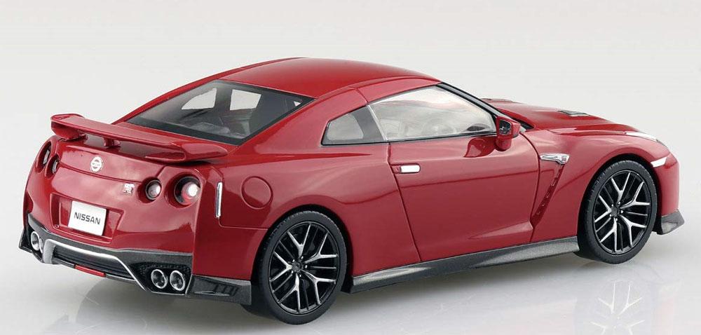 ニッサン GT-R バイブラントレッドプラモデル(アオシマザ・スナップキットNo.007-E)商品画像_3