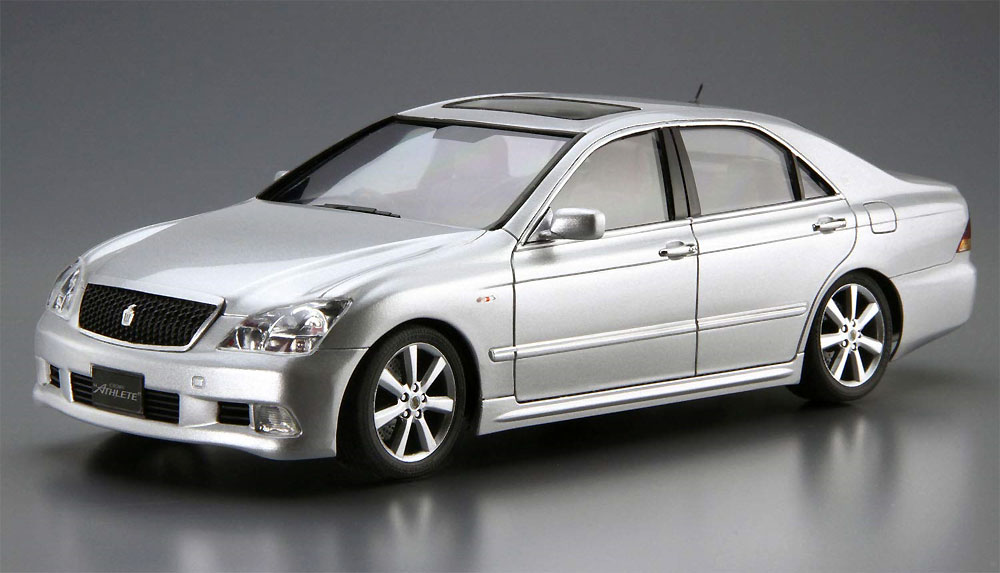 トヨタ GRS182 クラウン ロイヤルサルーン G/アスリートG '03プラモデル(アオシマ1/24 ザ・モデルカーNo.118)商品画像_2