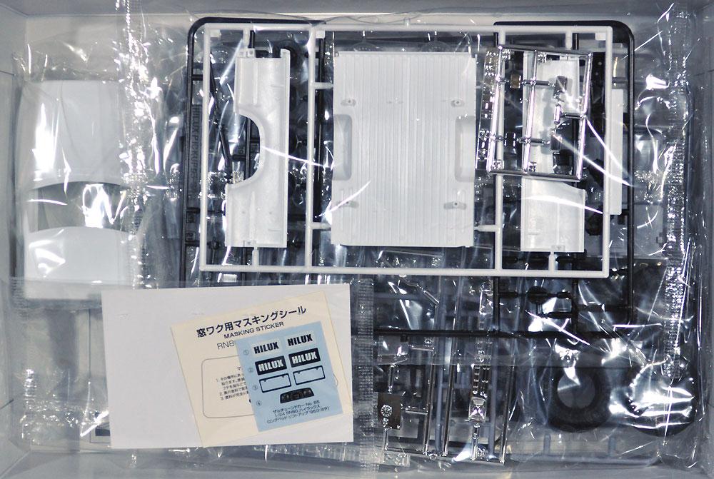 RN80 ハイラックス ロングベッド リフトアップ '95 (トヨタ)プラモデル(アオシマ1/24 ザ・チューンドカーNo.065)商品画像_1