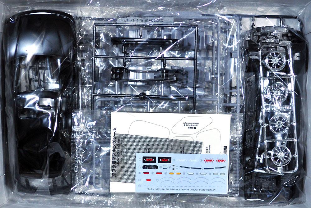 ウイングスウエスト CF2 アコードワゴン '96 (ホンダ)プラモデル(アオシマ1/24 ザ・チューンドカーNo.066)商品画像_1