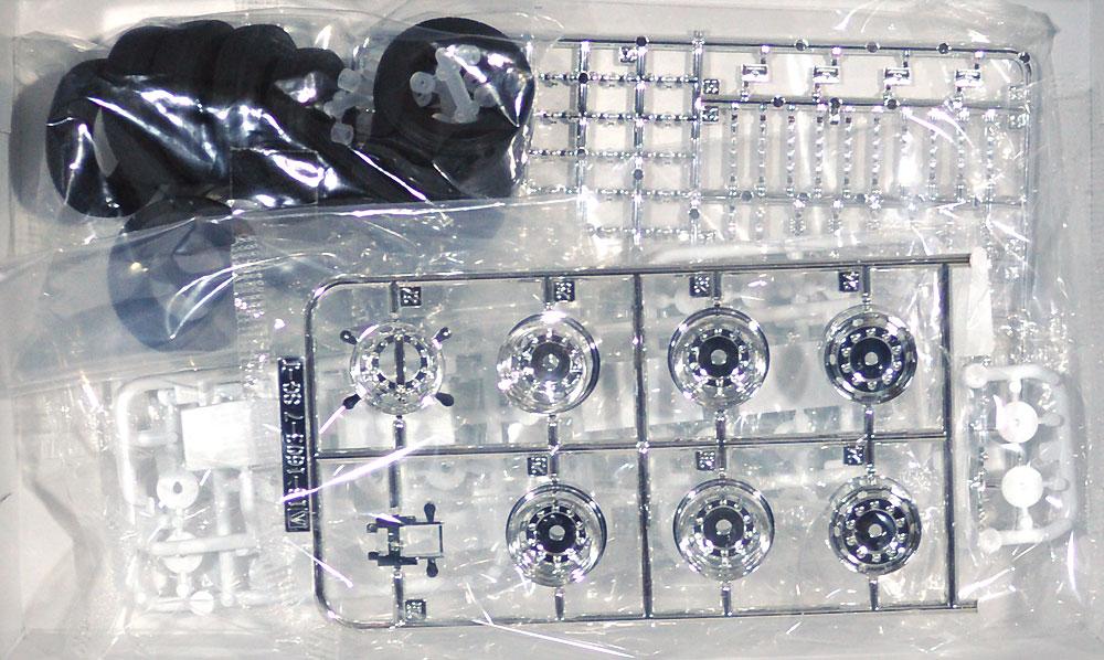 ISO 10穴 22.5インチ 純正鉄ホイール & マーカーランプセット (高床用)プラモデル(アオシマザ デコトラパーツNo.003)商品画像_2