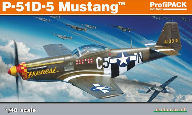 P-51D-5 ムスタングプラモデル(エデュアルド1/48 プロフィパックNo.82101)商品画像