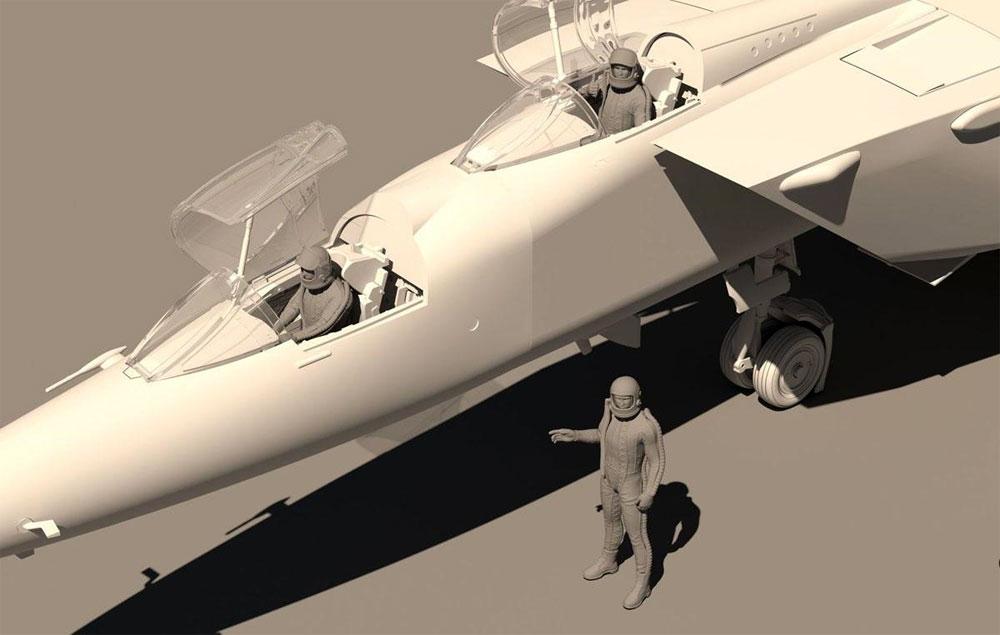 MiG-25PU フォックスバットプラモデル(キティホーク1/48 ミリタリーエアクラフト プラモデルNo.KH80136)商品画像_3