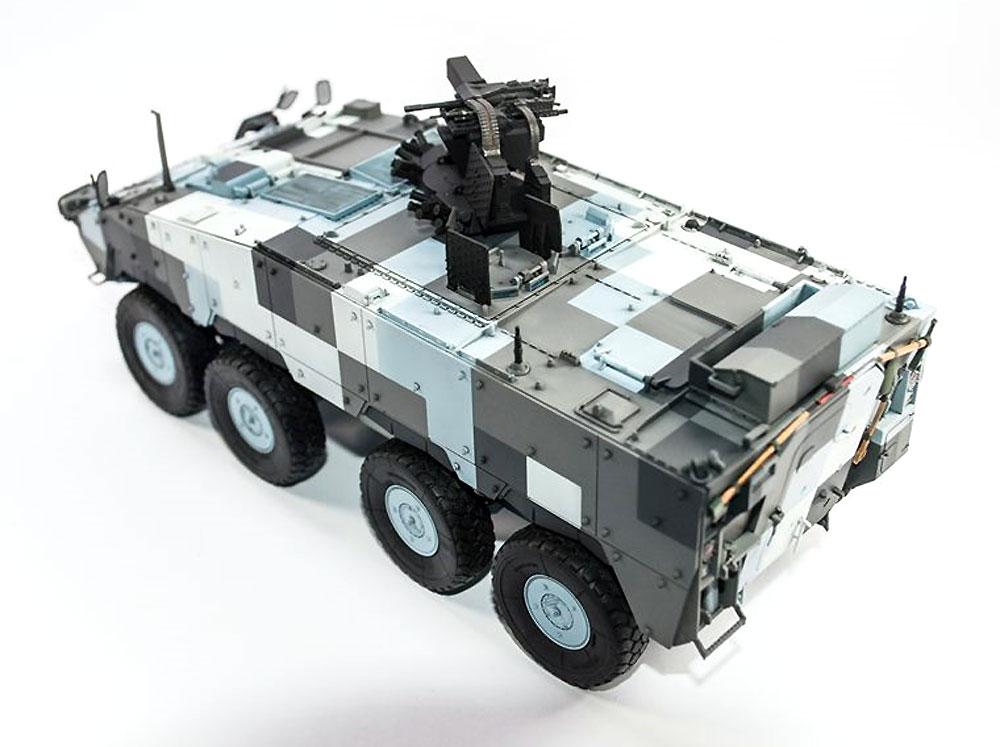中華民国陸軍 CM-33 雲豹 装輪装甲車 先行量産型プラモデル(AFV CLUB1/35 AFV シリーズNo.AF35S88)商品画像_4