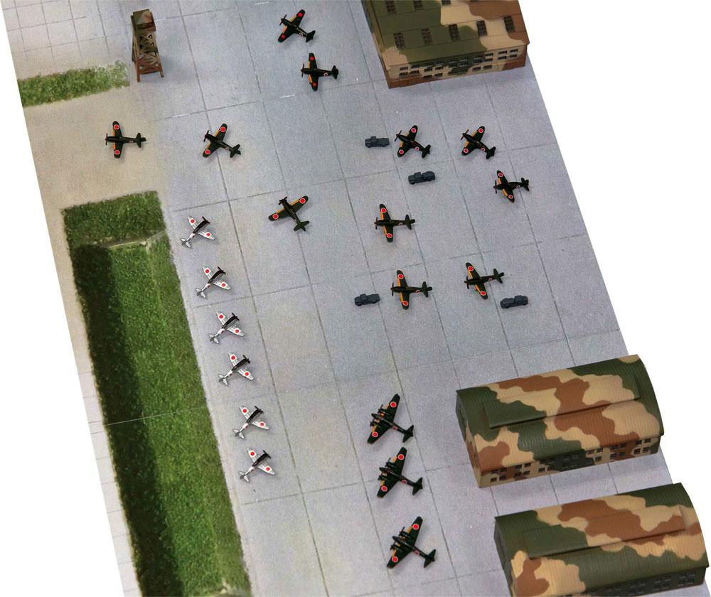 日本海軍 航空隊基地プラモデル(ピットロードスカイウェーブ S シリーズNo.SPS002)商品画像_4