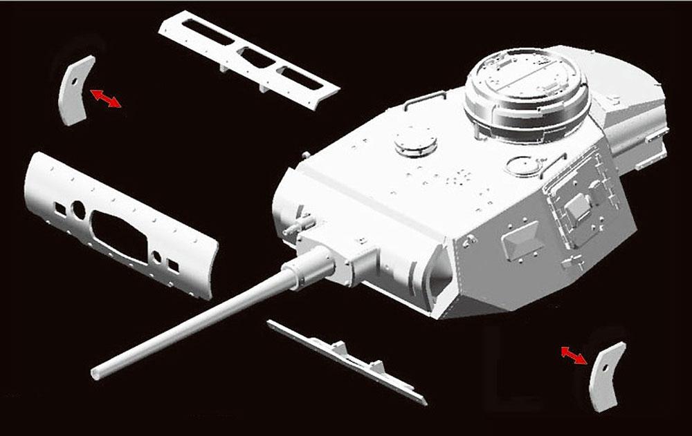 ドイツ 3号戦車 J型 極初期/初期生産型 (2in1)プラモデル(ドラゴン1/35 '39-'45 SeriesNo.6954)商品画像_3