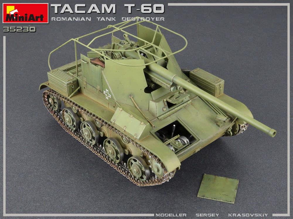 ルーマニア タカム T-60 駆逐戦車 フルインテリアプラモデル(ミニアート1/35 WW2 ミリタリーミニチュアNo.35230)商品画像_4
