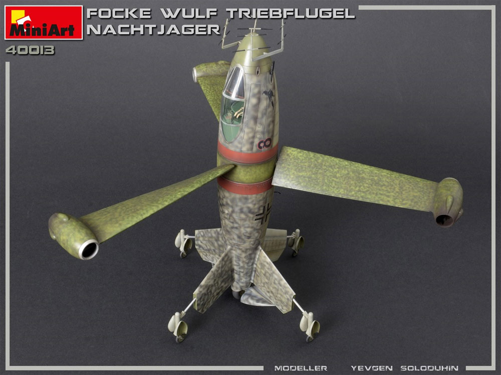 フォッケウルフ トリープフリューゲル 夜間戦闘機プラモデル(ミニアートWhat ifNo.40013)商品画像_3