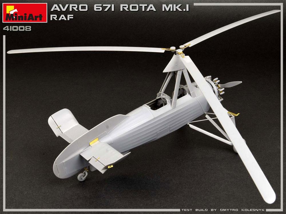 アブロ 671 ロータ Mk.1 RAFプラモデル(ミニアートエアクラフトミニチュアシリーズNo.41008)商品画像_3