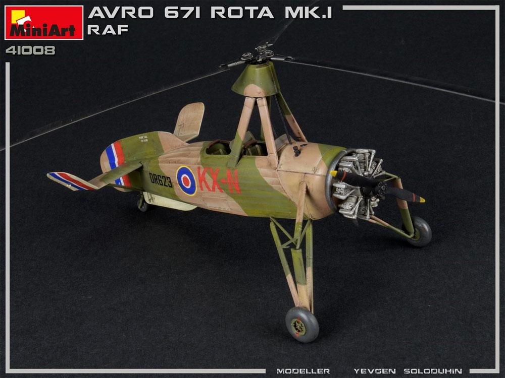 アブロ 671 ロータ Mk.1 RAFプラモデル(ミニアートエアクラフトミニチュアシリーズNo.41008)商品画像_4