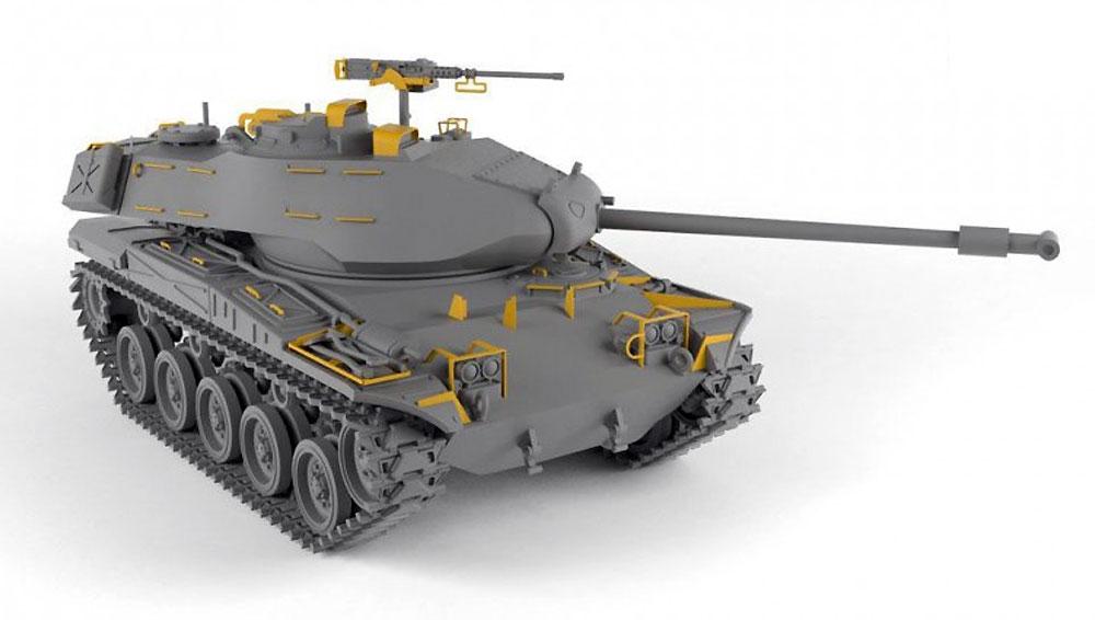 M41A1/A2 ウォーカー ブルドッグ 軽戦車プラモデル(ARMORY1/72 AFVNo.72412)商品画像_2