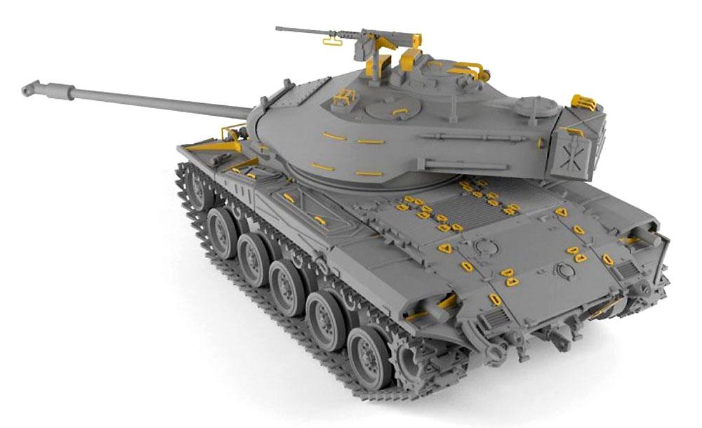 M41A1/A2 ウォーカー ブルドッグ 軽戦車プラモデル(ARMORY1/72 AFVNo.72412)商品画像_3