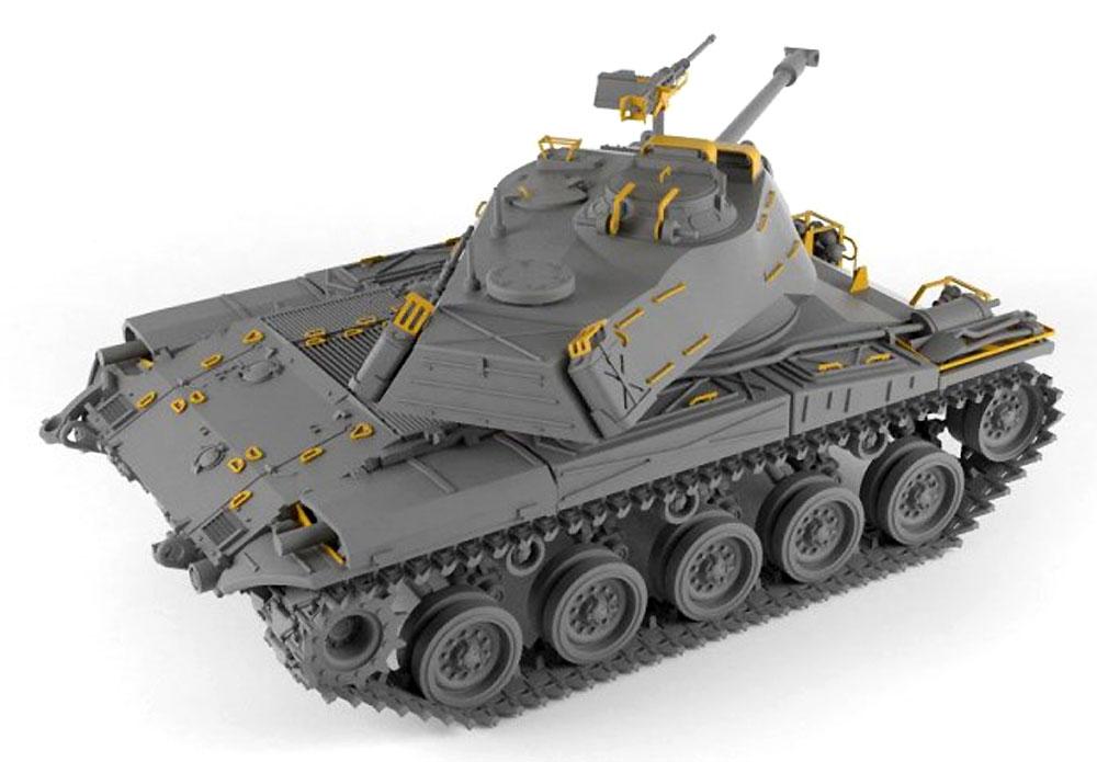 M41A1/A2 ウォーカー ブルドッグ 軽戦車プラモデル(ARMORY1/72 AFVNo.72412)商品画像_4