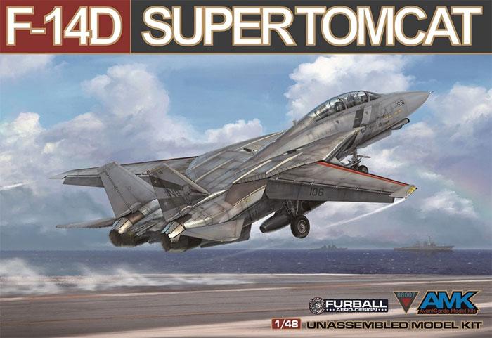 F-14D スーパートムキャットプラモデル(AMK1/48 Aircrafts seriesNo.88007)商品画像