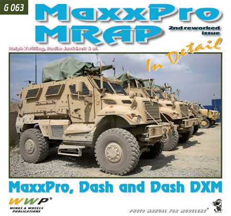 Maxx Pro MRAP イン・ディテール 増補版本(WWP BOOKSPHOTO MANUAL FOR MODELERS Green lineNo.G063)商品画像