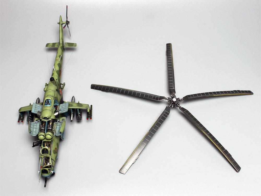 Mi-24V/VP ハインド Eプラモデル(プラッツ航空模型特選シリーズNo.AE-016)商品画像_3