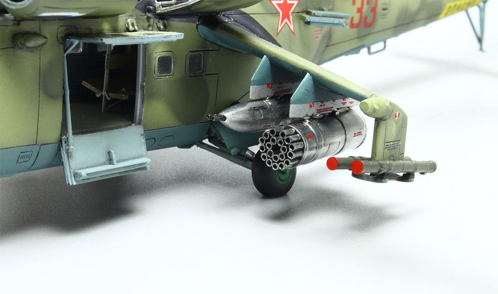 Mi-24V/VP ハインド Eプラモデル(プラッツ航空模型特選シリーズNo.AE-016)商品画像_4