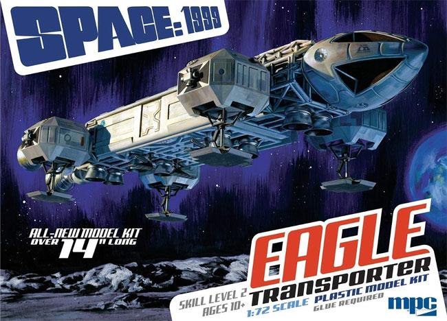 スペース 1999 イーグル トランスポータープラモデル(MPCプラスチックモデルキットNo.MPC913/12)商品画像
