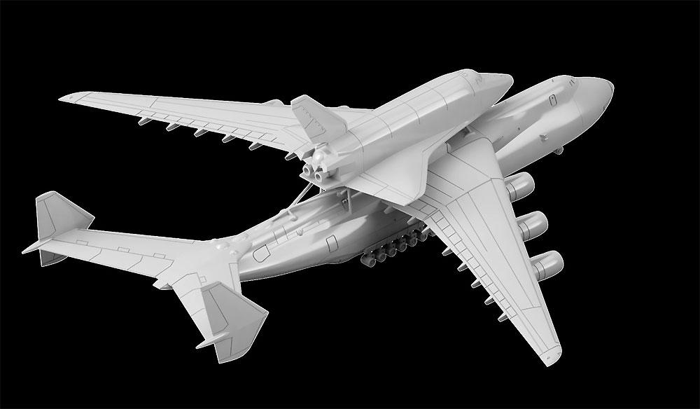 An-225 ムリーヤ 大型輸送機 & 軌道船 ブランプラモデル(ピットロードスカイウェーブ S シリーズNo.S051)商品画像_3