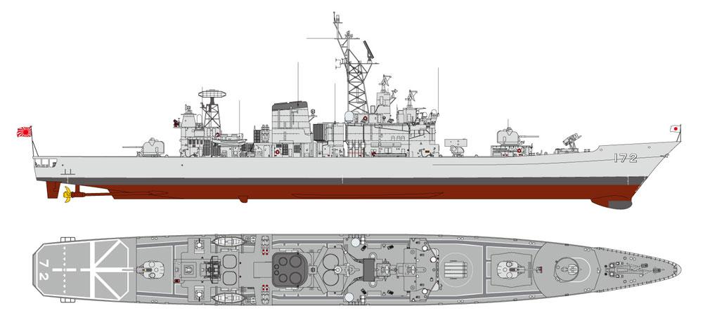 海上自衛隊 護衛艦 DDG-172 しまかぜプラモデル(ピットロード1/700 スカイウェーブ J シリーズNo.J087)商品画像_1