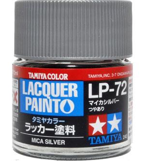 LP-72 マイカシルバー塗料(タミヤタミヤ ラッカー塗料No.LP-072)商品画像