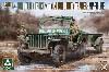 アメリカ陸軍 1/4トン ユーティリティトラック w/トレーラー & 憲兵フィギュア