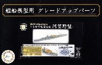 フジミ1/700 艦船模型用グレードアップパーツ日本海軍 軽巡洋艦 阿賀野型 エッチングパーツ & 2ピース 25ミリ機銃