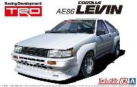 アオシマ1/24 ザ・チューンドカーTRD AE86 カローラレビン N2仕様 '83 (トヨタ)