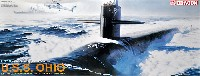 ドラゴン1/350 Modern Sea Power Seriesアメリカ海軍 原子力潜水艦 U.S.S. オハイオ