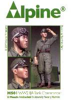 アルパイン1/35 フィギュアWW2 帝国陸軍 戦車長