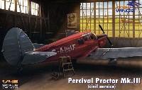 ドラ ウイングス1/48 エアクラフト プラモデルパーシヴァル プロクター Mk.3 民間仕様
