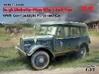 ICM1/35 ミリタリービークル・フィギュアドイツ le.gl. Pkw Kfz.1 軽四輪駆動乗用車 ソフトトップ