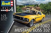 レベルカーモデル1969 フォード ムスタング Boss 302