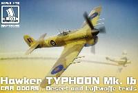 ホーカー タイフーン Mk.1b カードア 砂漠迷彩、ドイツ空軍 トライアル