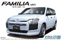 アオシマ1/24 ザ・モデルカーマツダ NCP160M ファミリア バン '18