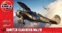 エアフィックス1/72 ミリタリーエアクラフトグロスター グラディエーター Mk.1/2