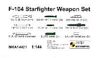 MARK 1アクセサリーF-104 スターファイター ウェポンセット