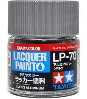 LP-70 アルミシルバー塗料(タミヤタミヤ ラッカー塗料No.LP-070)商品画像