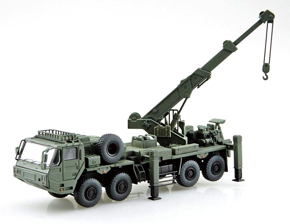 陸上自衛隊 重装輪回収車プラモデル(アオシマ1/72 ミリタリーモデルキットシリーズNo.019)商品画像_3