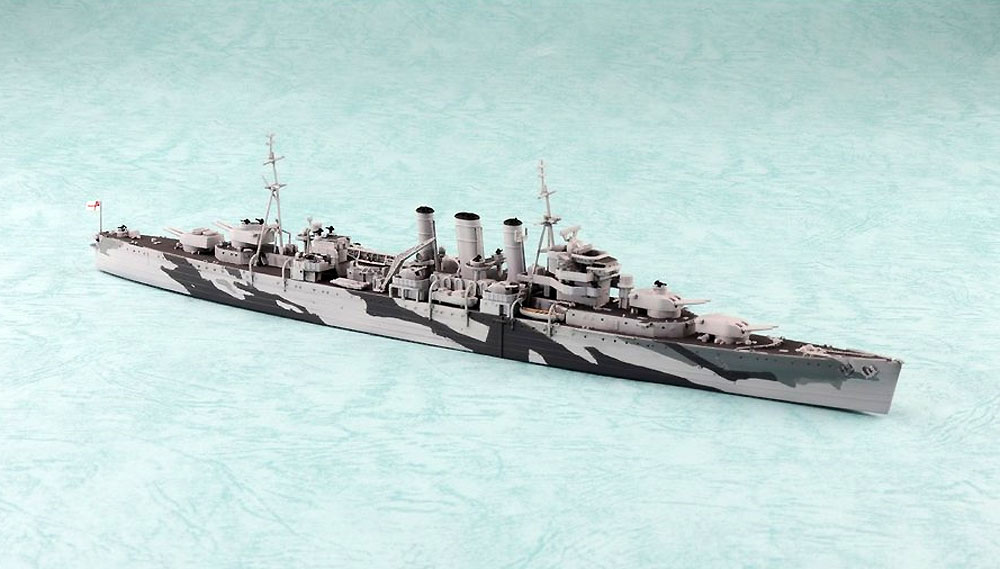 英国海軍 重巡洋艦 ノーフォークプラモデル(アオシマ1/700 ウォーターラインシリーズNo.809)商品画像_1