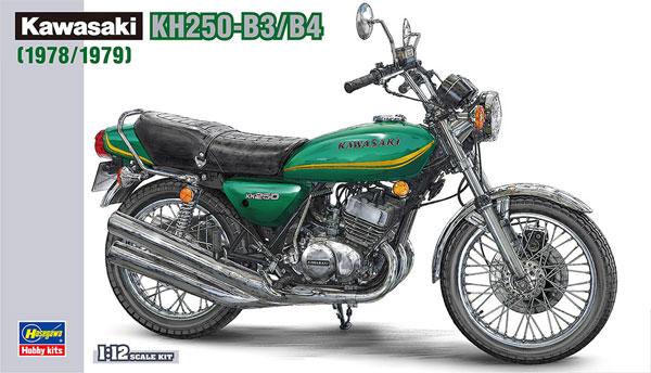 カワサキ KH250-B3/B5プラモデル(ハセガワ1/12 バイクシリーズNo.BK-008)商品画像