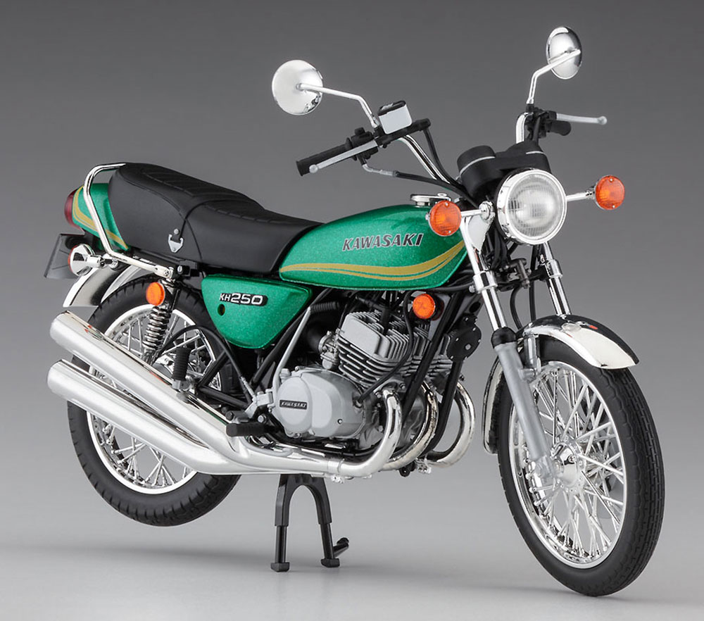 カワサキ KH250-B3/B5プラモデル(ハセガワ1/12 バイクシリーズNo.BK-008)商品画像_2