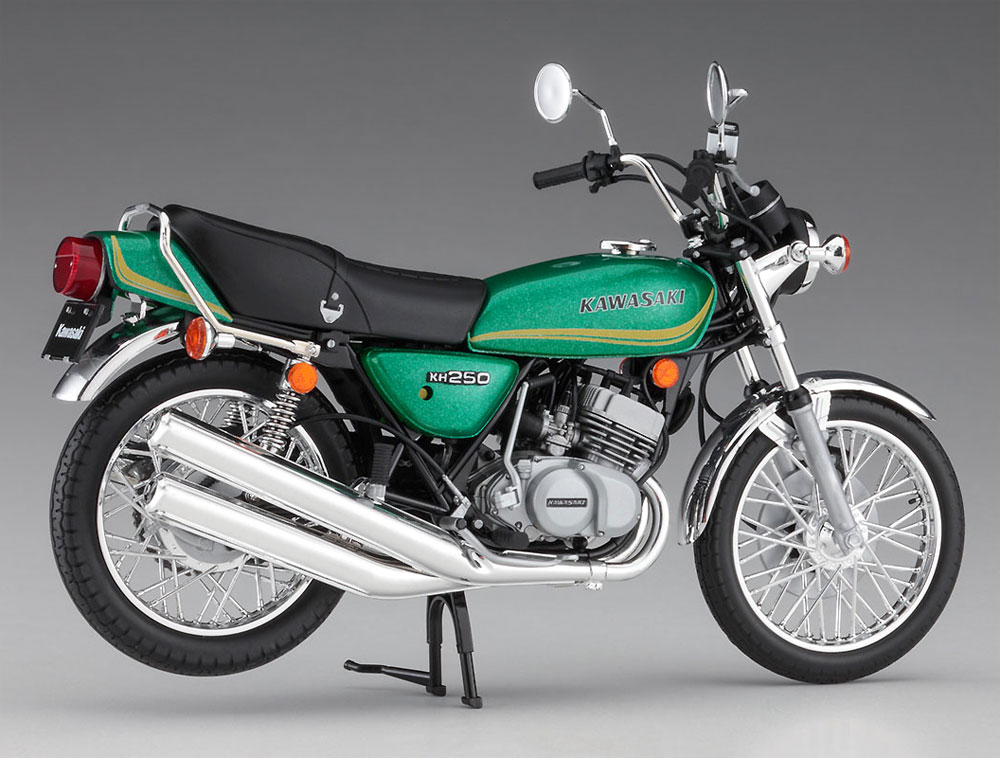 カワサキ KH250-B3/B5プラモデル(ハセガワ1/12 バイクシリーズNo.BK-008)商品画像_4