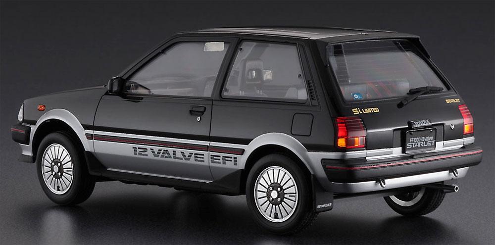 トヨタ スターレット EP71 Si リミテッド 3ドア 中期型プラモデル(ハセガワ1/24 自動車 限定生産No.20425)商品画像_3