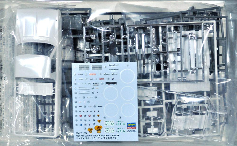 ニッサン サニー トラック w/チンスポイラープラモデル(ハセガワ1/24 自動車 限定生産No.20427)商品画像_1
