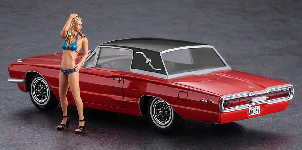 1966 アメリカン クーペ タイプT w/ブロンドガールズフィギュアプラモデル(ハセガワ1/24 自動車 限定生産No.SP441)商品画像_3