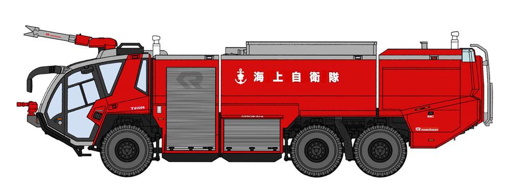 ローゼンバウアー パンサー 6x6 空港用化学消防車 海上自衛隊プラモデル(ハセガワサイエンスワールド シリーズNo.SP435)商品画像_2
