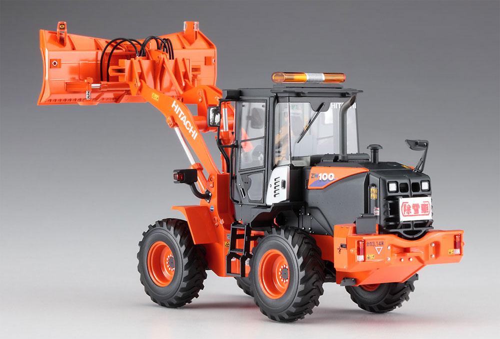 日立建機 ホイールローダ ZW100-6 マルチプラウ (除雪) 仕様機プラモデル(ハセガワ建機シリーズNo.66102)商品画像_4