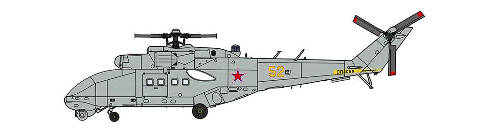 Mi-24 ハインド UAVプラモデル(ハセガワ1/72 飛行機 限定生産No.02317)商品画像_2