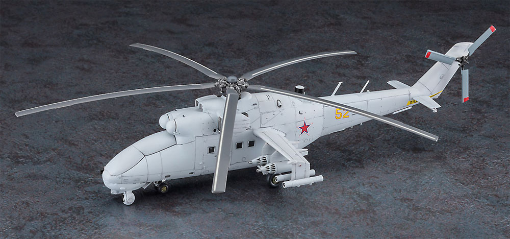 Mi-24 ハインド UAVプラモデル(ハセガワ1/72 飛行機 限定生産No.02317)商品画像_3